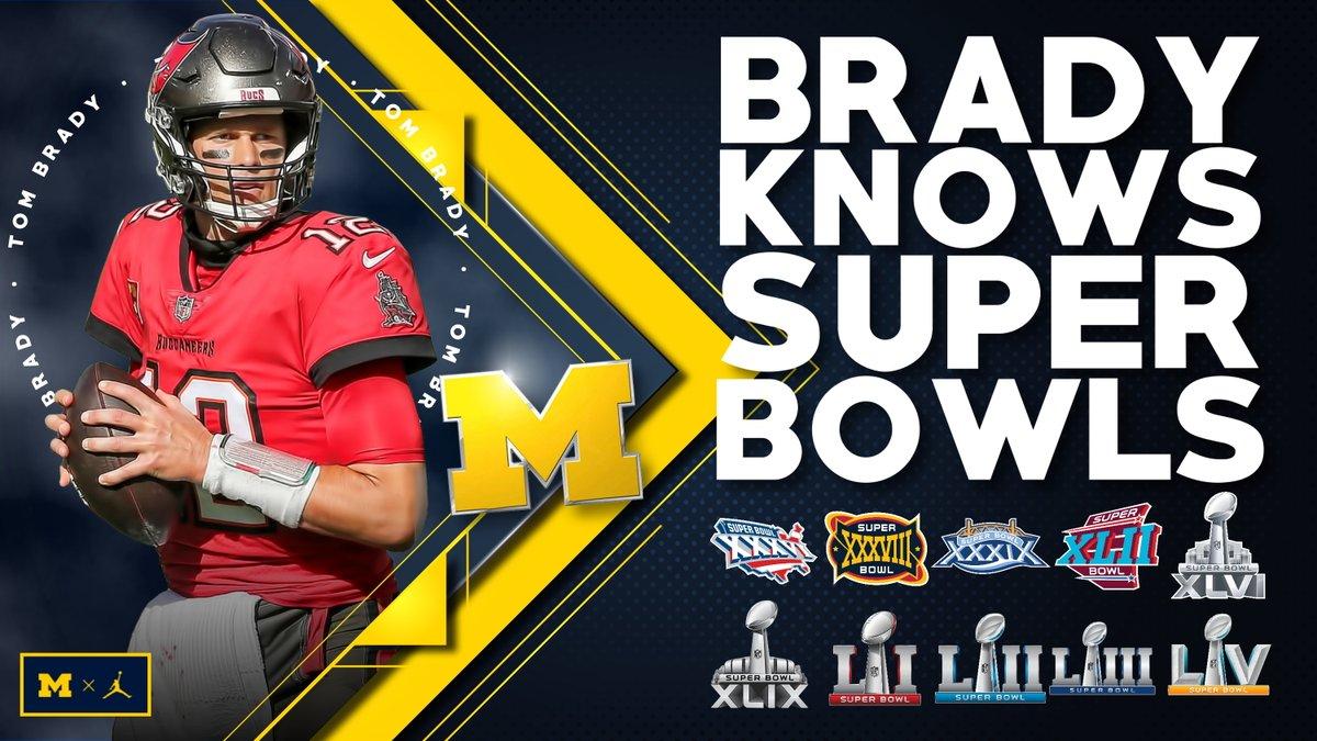 NOBODY does it better!   1️⃣0️⃣ Super Bowl appearances for TB.   @TomBrady x #SBLV