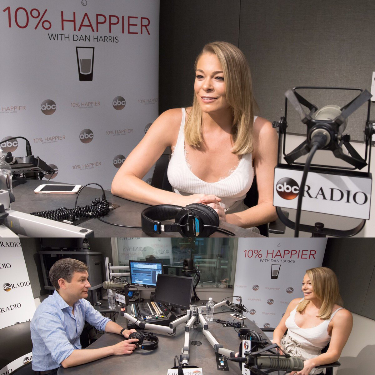 Get ready my LovEs as tomorrow's #WhollyHuman episode is a big one. It's been over three years since I joined @danbharris on his @10percent  Podcast and now the tables have turned and I am honored to have him on mine. Subscribe now if you haven't already ~