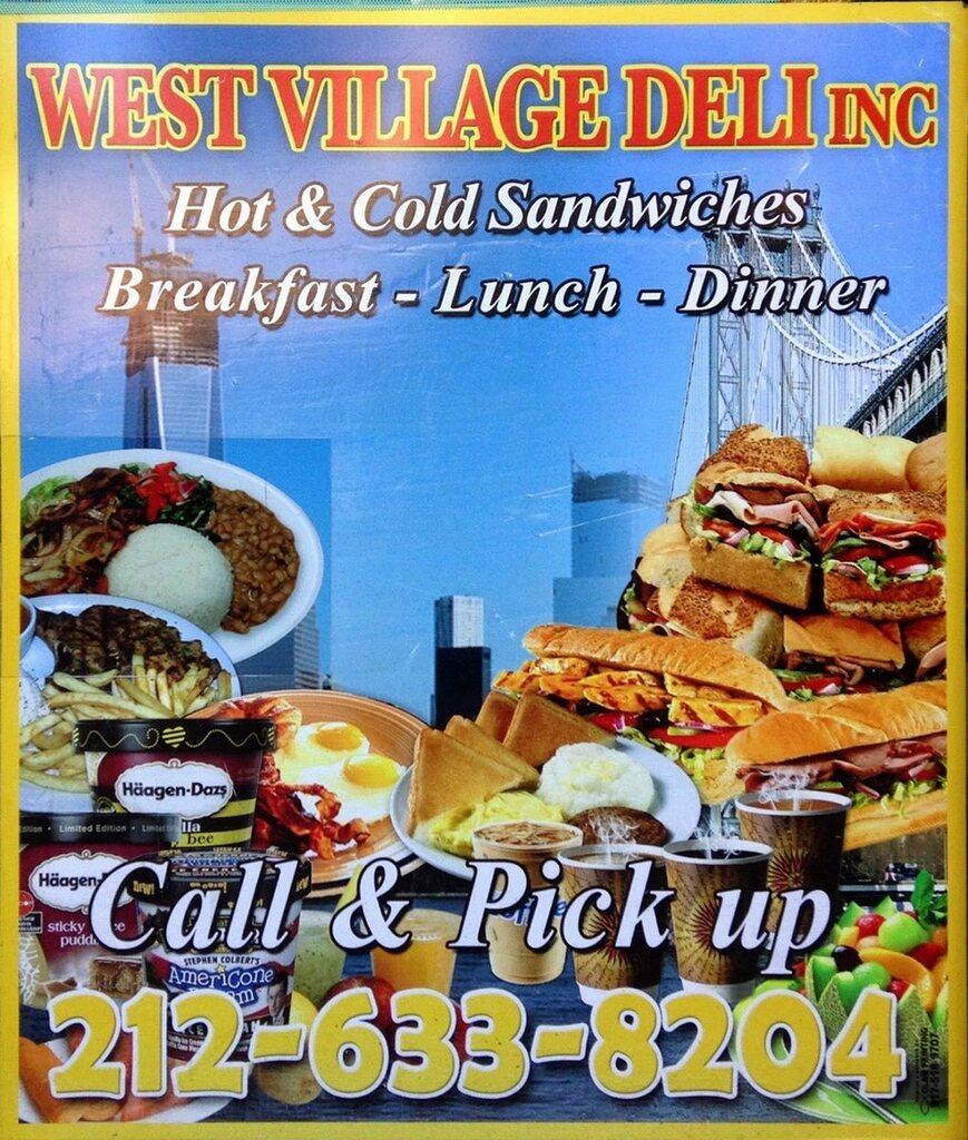 West Village Deli. 690 Washington St. New York, NY. (1)(DG Archive: October 2014). #deligrossery  #westvillage #westvillagedeli #manhattan #deligrossery #bodega #deligrocery #deli #sandwich #coldcuts #sandwiches #delicatessen #photoslop #ny #newyork  #di…