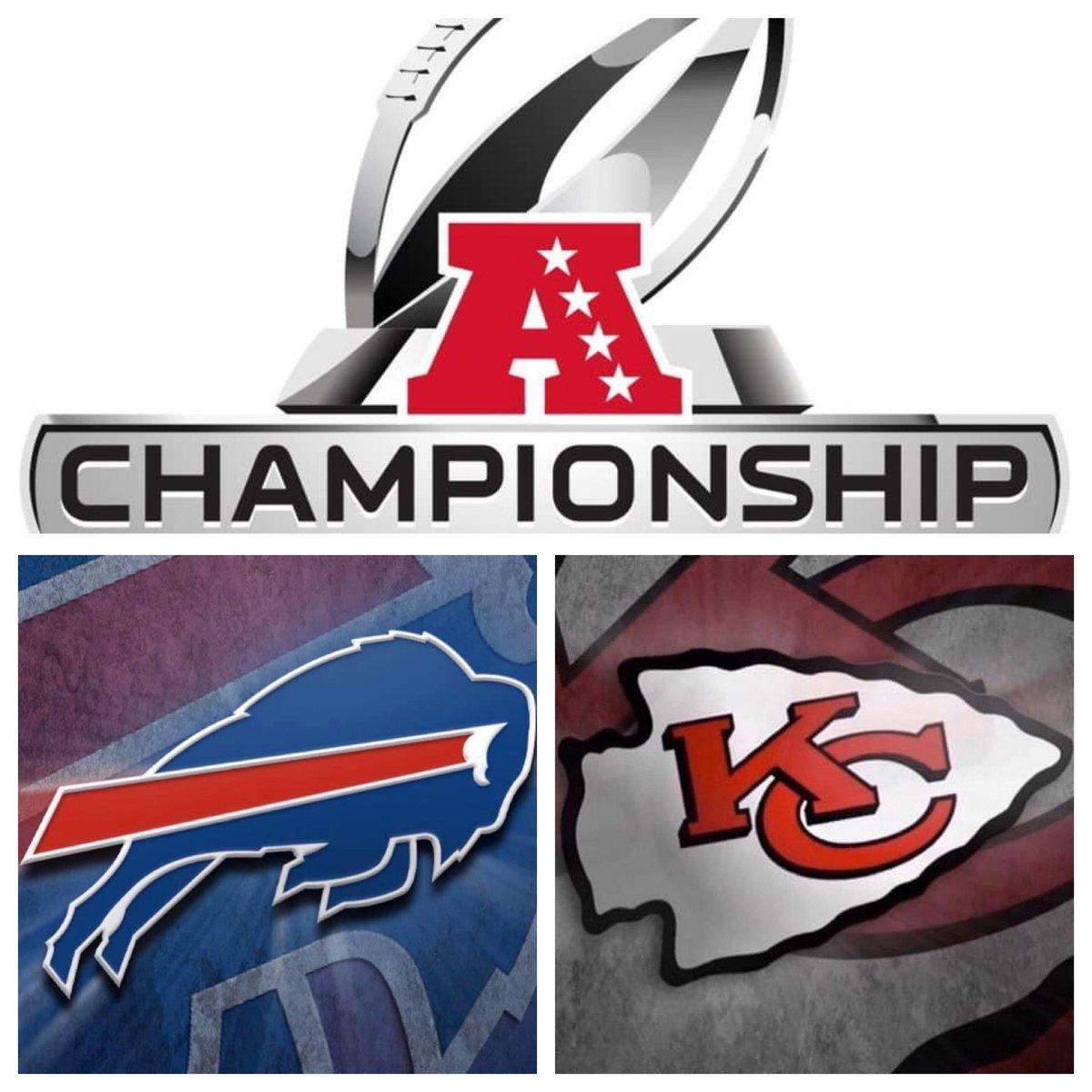 #IESRSN The 2021 #AFCChampionship is underway! #NFL #NFLPlayoffs #ChampionshipSunday #BUFvsKC #BIllsMafia #ChiefsKingdom