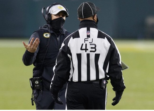 Maybe the worst call ever made by an @NFL head coach. @packers #PackersBucs #NFCChampionship #NFLPlayoffs #mattlafleur