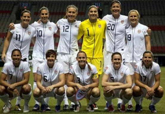 #Concacaf60TH: #OnThisDay in 2012 – #USWNT claimed 1st place in Group B of Women's Olympic Qualifying Tournament (London '12) w/ a 4:0 victory against @miseleccionmxEN, before 7,599 fans, at @bcplace. @CarliLloyd had 3 goals (hat-trick) for U.S.. Both teams advanced to semis.