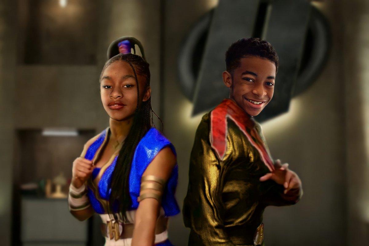 Will Fast Foward & Rewind getting their costume in We Can Be Heroes 2? #FANART #fastfoward #rewind #isaiahrussellbailey #akiraakbar #twins #WeCanBeHeroes