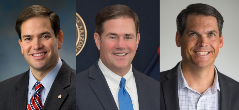 🚨🚨🚨 NEW 2022 US Senate Predictions (2021 version) in contrary to my original 2017 prediction. Check out!    Pix: #FLsen Marco Rubio, #AZsen Doug Ducey and #GAsen Geoff Duncan