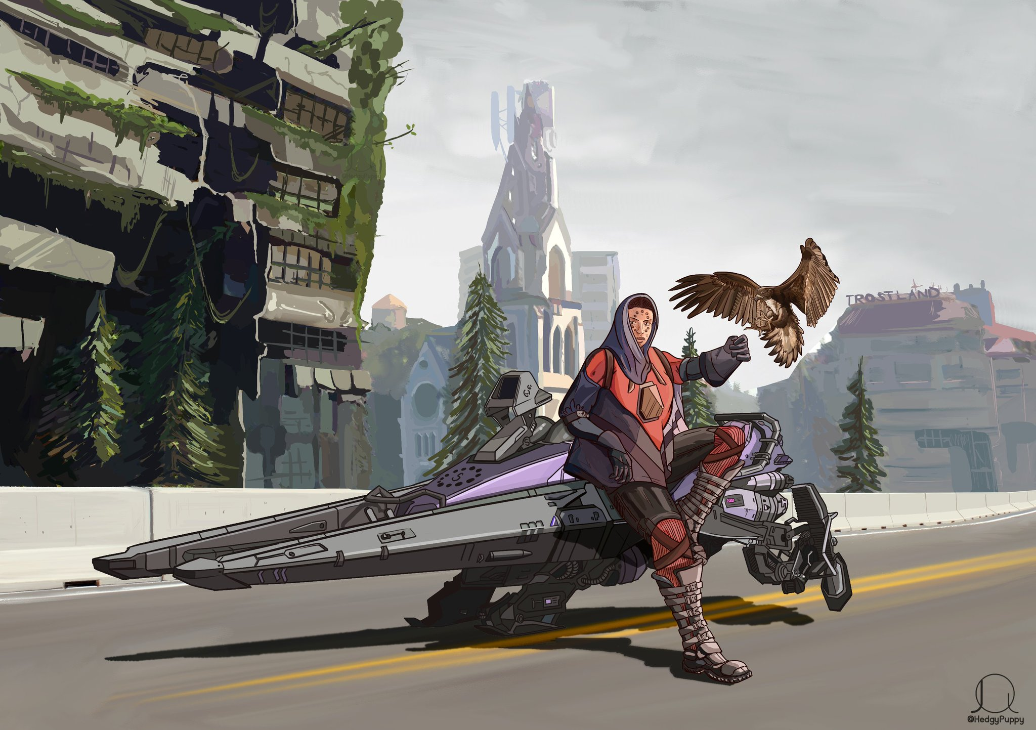 Need a ride, guardian?