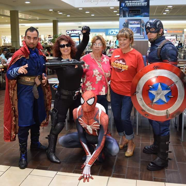 This was such a fun time for me.  I had started working with a group of heroes, made new friends, grew more confident in my spidey persona and got great public reception.  Maybe it'll come around again. #cosplay #cosplayers #spiderman #drstrange #CaptainAmerica #BlackWidow