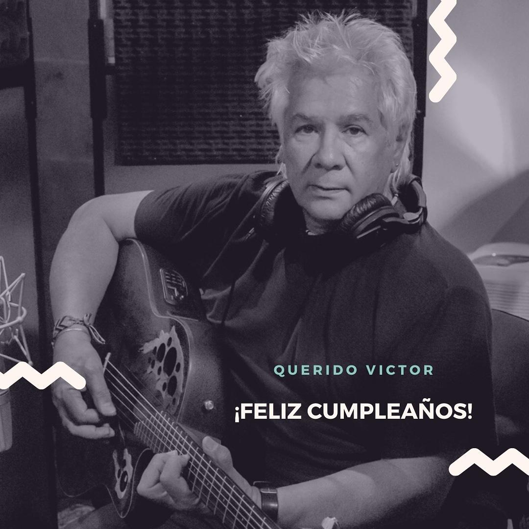 Con mucho cariño hoy celebramos el cumpleaños del gran y querido @VictorHerediaOK ✨♥️  #FelizCumple 🥂  #victorheredia 🇦🇷