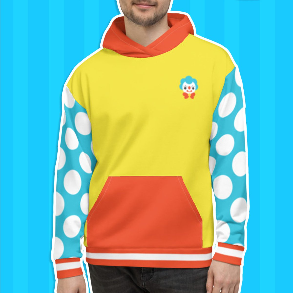 PREORDERS for the 2.0 Primary Hoodie are open! 🤡 It will be ready in about a month and includes a new chest logo and teeth printed inside the pocket. Preorders close 1/27/2020 ✨