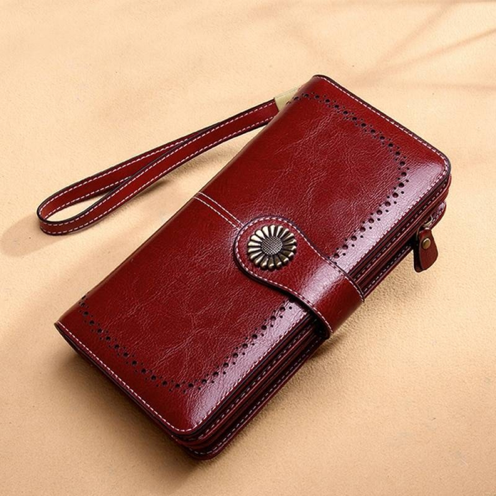 Hollow Leather Wallet#beautiful #love