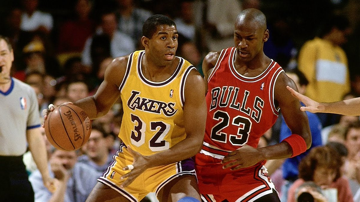 Don't think there's been a 'passing of the torch' championship matchup with this much anticipation since MJ vs. MJ in '91