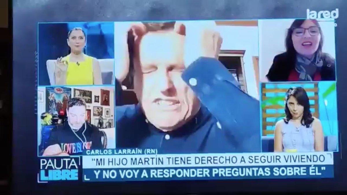 #PautaLibre esa fue la misma expresión , cuando su hijo asesino a Hernán Canales