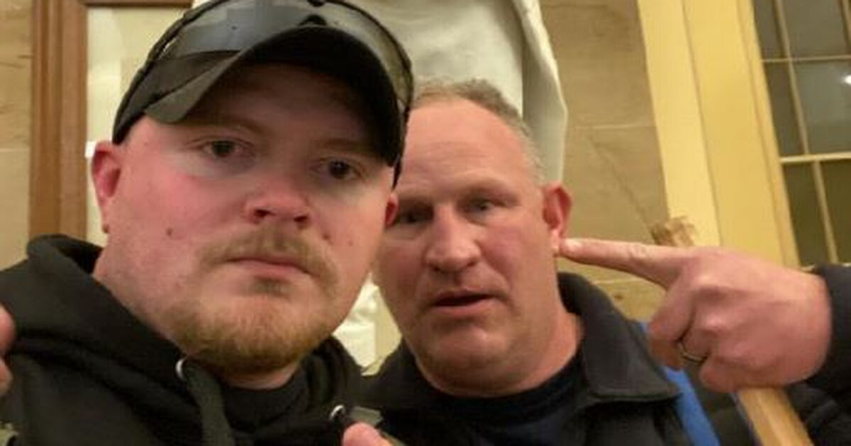 Virginia police officers, one a National Guardsman, face termination in storming US Capitol