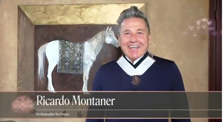 Revive el Nombramiento de Ricardo Montaner como Embajador de La Paz.🕊️   👈📽️  @montanertwiter