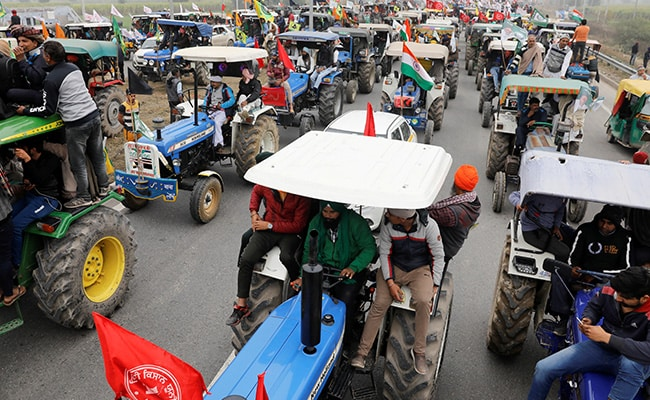 Replying to @ndtv: AAP Punjab MLAs To Move Towards Delhi On Tractors To Support Farmers