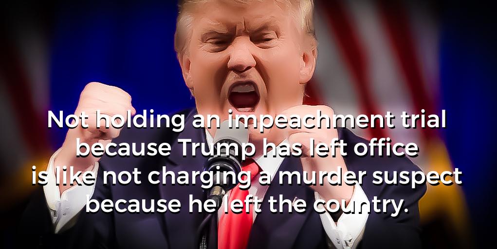 #CapitolRiots #ImpeachTrump #InsurrectionHasConsequences