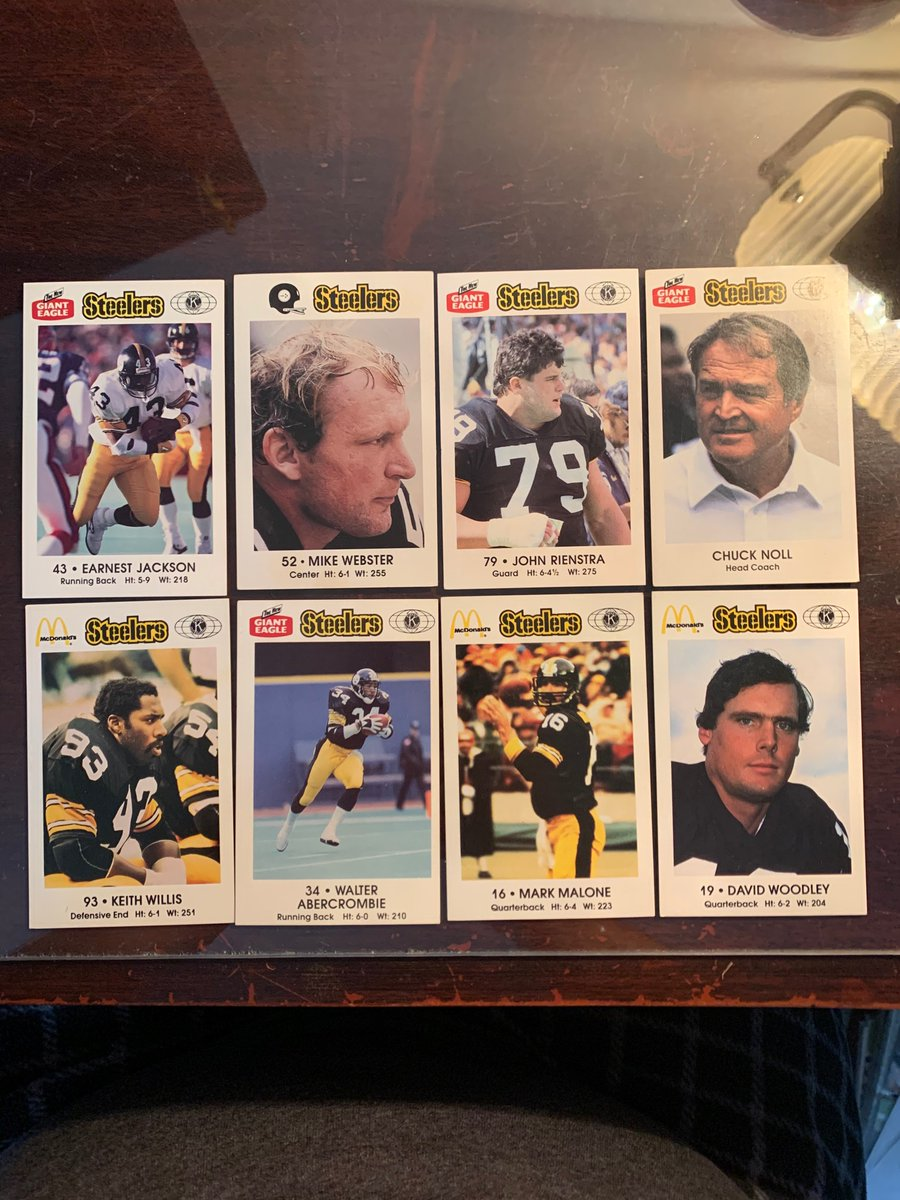 Steelers lot  $6.00 Reasonable offers considered.  See pinned tweet for shipping info!  @HobbyConnector @Hobby_Connect