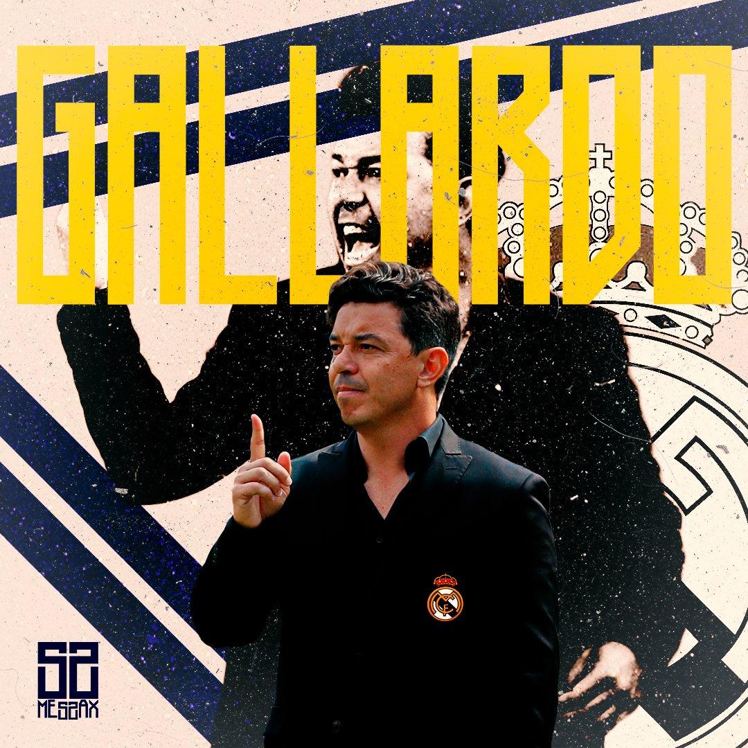 Gallardo no @realmadrid?  #RealMadrid #MarceloGallardo