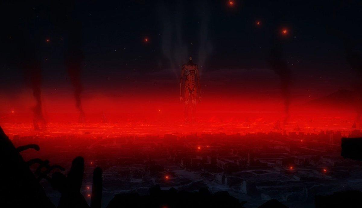 Simplesmente o melhor anime da atualidade  #AttackOnTitan #ThankYouMappa
