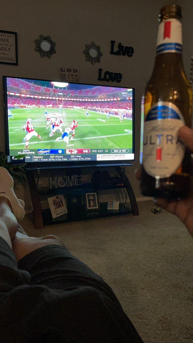 Viene que le voy a los #ChiefsKingdom #nfl #ESPN #NFLTwitter #NFCChampionship #NFLxESPN #NFL