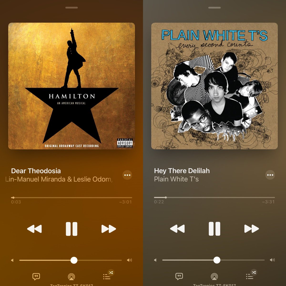 Another reason why @HamiltonMusical is one of the best musicals ever written!  Let's make that a thread!   What other songs conversation can you make?  @plainwhitets #Hamilton #hamiltonmusical #DisneyPlus