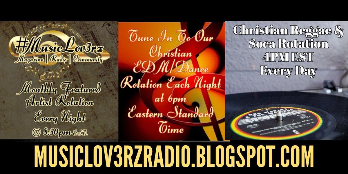 #MusicLov3rzRadio's Genre Specific #Christian #Music Rotations