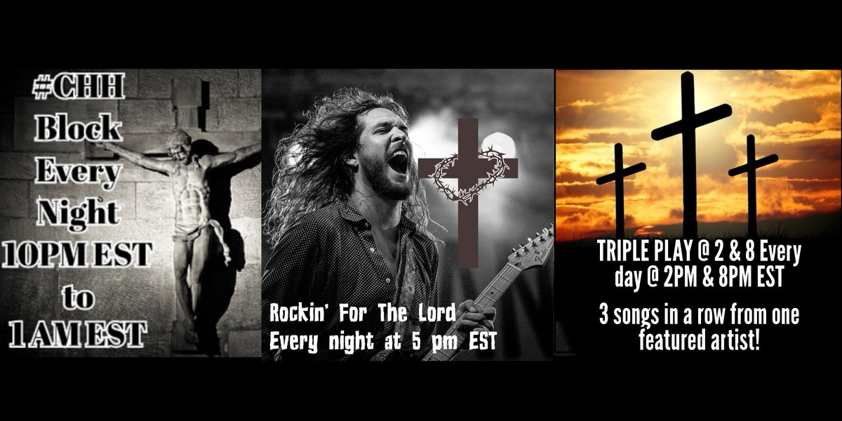 ~#MusicLov3rzRadio's Genre Specific #Christian #Music Rotations just for you #MusicLov3rz!!!
