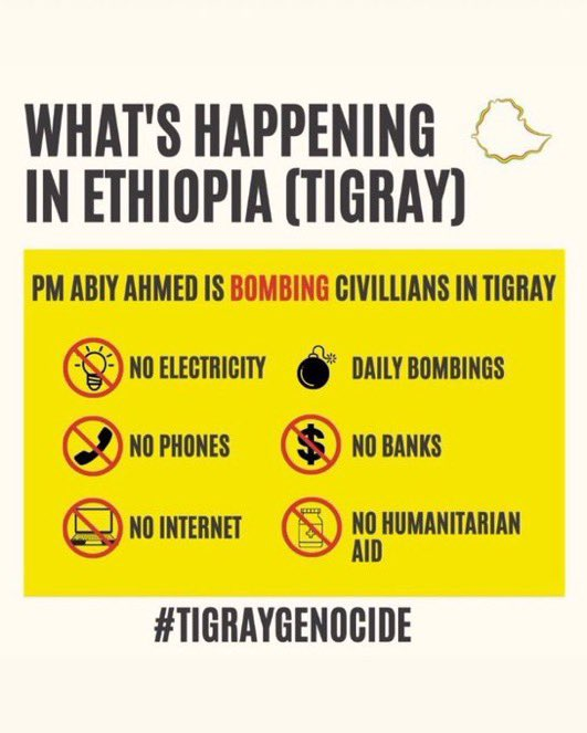 Hi @JimCarrey! There's a man made famine happening in the Tigray region of Ethiopia and it'd great if you could help bring global awareness to the cause! Not many are discussing it and the number of victims being killed & fleeing for refugee during a pandemic continues to rise-