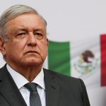 Image for the Tweet beginning: Mexican president Lopez Obrador tests