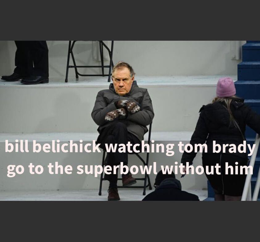 Move over  Bernie it's Billy's turn  😂 #TBvsGB  #SuperBowlLV  #NFCChampionship