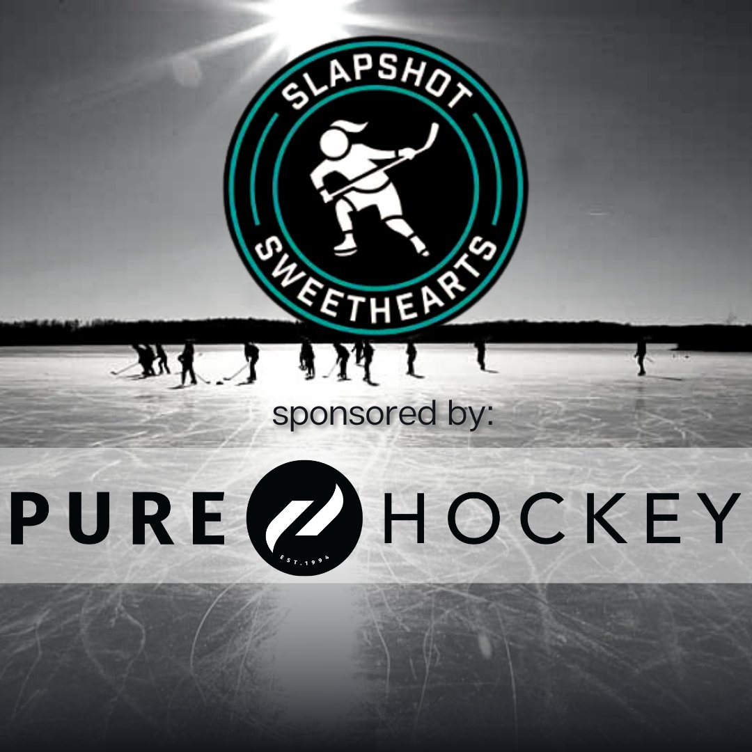 Feel the itch to shop? Us too (always). 🛍️  Slapshot Sweethearts is SPONSORD by @PureHockey - @usahockey's go-to for hockey jerseys, gear, equipment, and merch. 💸  Go check out our affiliate link for your next order! 👉  #NHL   #HockeyTwitter   #PodcastHQ