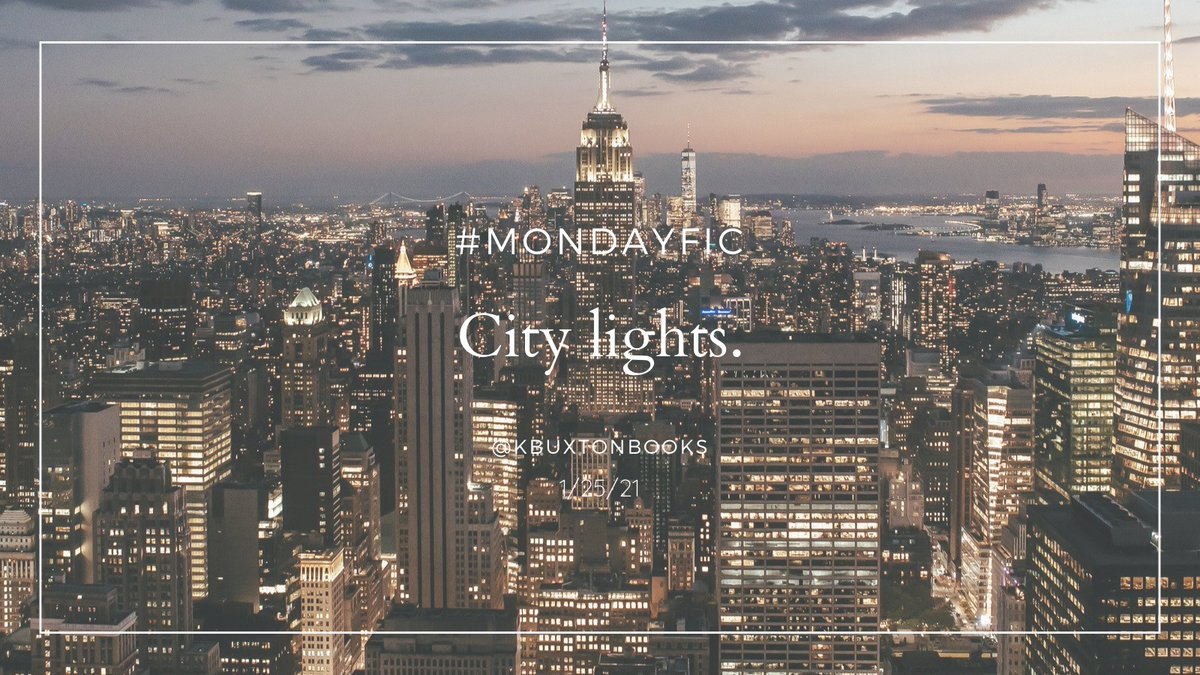 Tomorrow's prompt is about the lights of a city! Just write a tweet-long piece of poetry or prose and tag it #MondayFic. I can't wait to see what you all come up with!  #writingprompt #ideas https://t.co/QecxeRTQOs