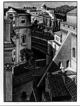 Untitled, 1936  #surrealism #mcescher