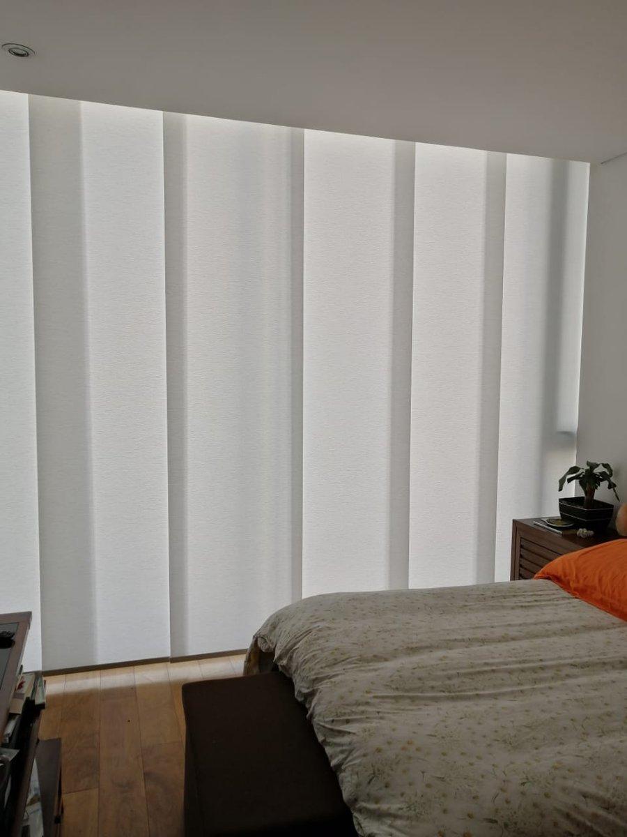 #cortina #paneljapones o #panelcorredizo Excelente opción para #balcones y #terrazas disponible en variedad de #telas. Cotiza al WhatsApp 5565931212 #ideas #hogar #decoracion #moda #blanco #interiordesign https://t.co/lYgVJ8c7lW