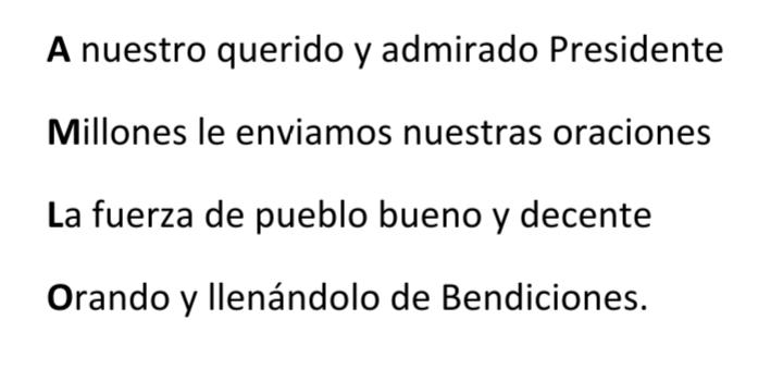 @lopezobrador_ #FuerzaPresidente