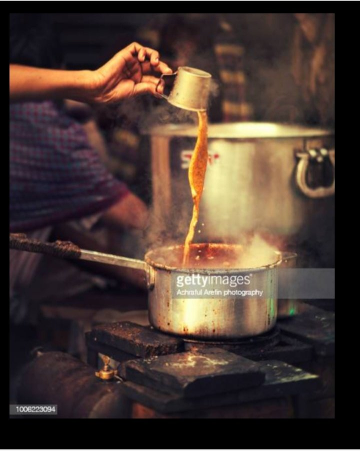 चाय जैसी उबल रही है  .....$#?!&><~\|}]}}{ ¥         जिंदगी मगर हम ...भी        हर घूँट का आनंद......शौक   से लेंगे...!! Good morning everyone ☕