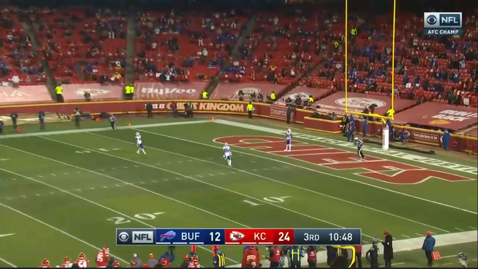 This is one boring game #BUFvsKC #AFCChampionship #NFL