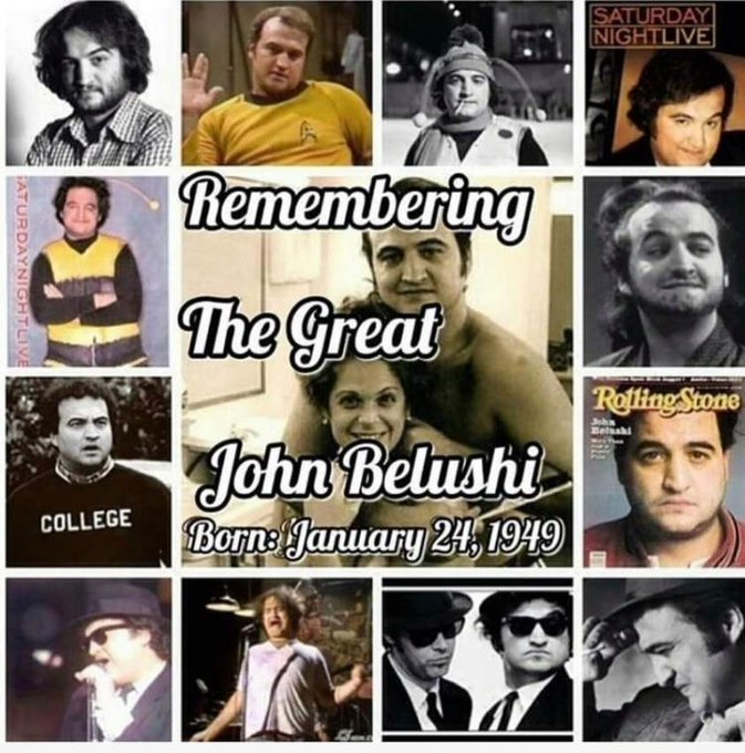 Happy birthday John Belushi.