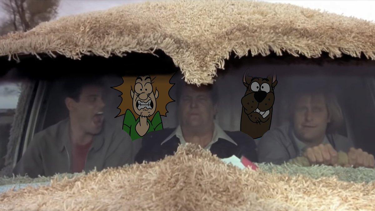 Like scoob, wanna hear the most annoying sound in the world...  #scoobydoo #scooby #scoob #shaggy #cartoon #scoobydoobydoo #shaggyrogers #mysterymachine #hannabarbera #art #mysteryinc #scoobysnacks #memes #scoobydoomemes  #dumbanddumber #jimcarrey #jeffdaniels #mikestarr