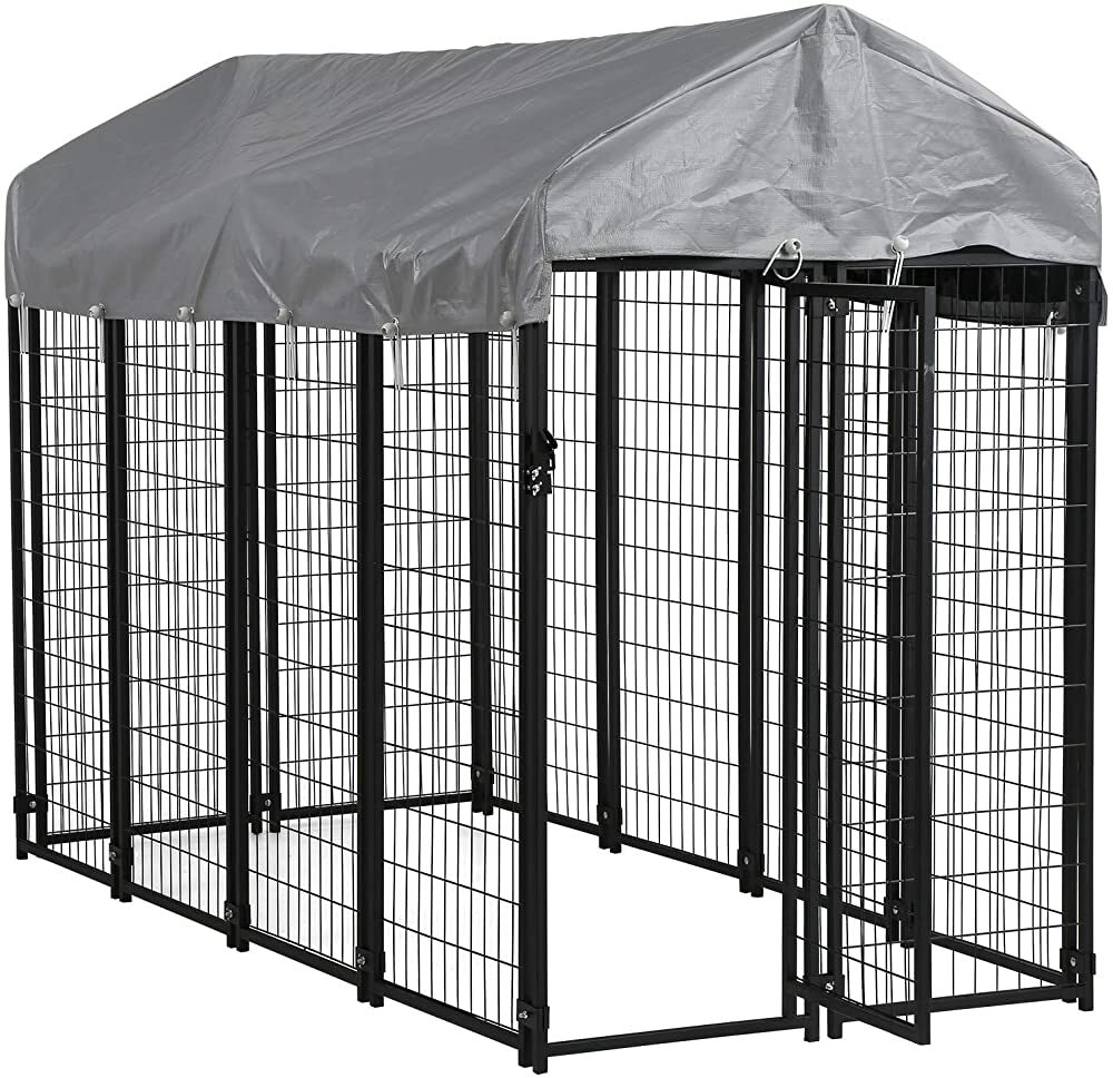 FDW Large Dog Kennel Pet Crate Heavy Duty Cage Puppy Playpen Wire Animal Metal Camping Indoor Outdoo  #gifts #giftideas #dog #cat #puppy #pets  #blackfriday #thanksgiving #cybermonday @amazon #amazon #primeday
