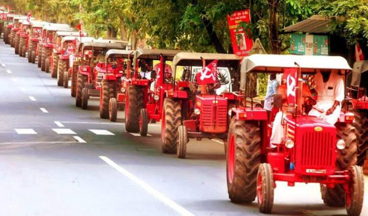 Tractor Parade in Bengaluru on Republic Day, 5000 vehicles to join. #SupportPeacefulTractorParade
