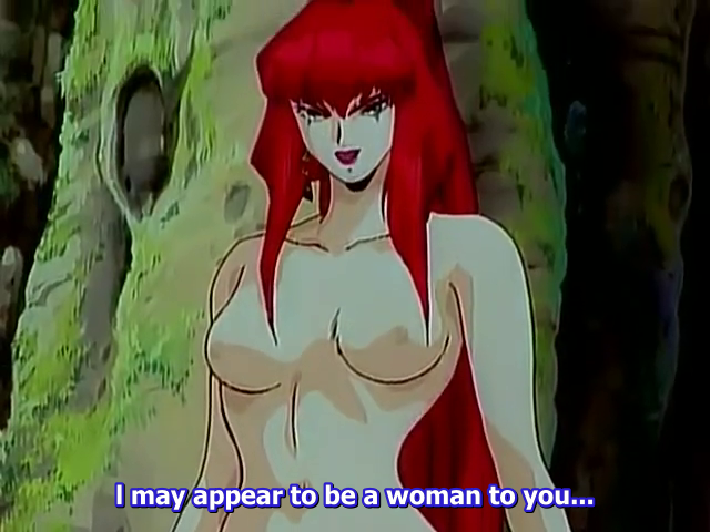 Replying to @SpaceVixenMusic: yeah you tell em, weird 90s anime porn villain