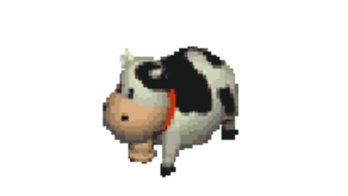 Replying to @cowhagumi: we as a society need to start hyping up all the pixel cows from video games