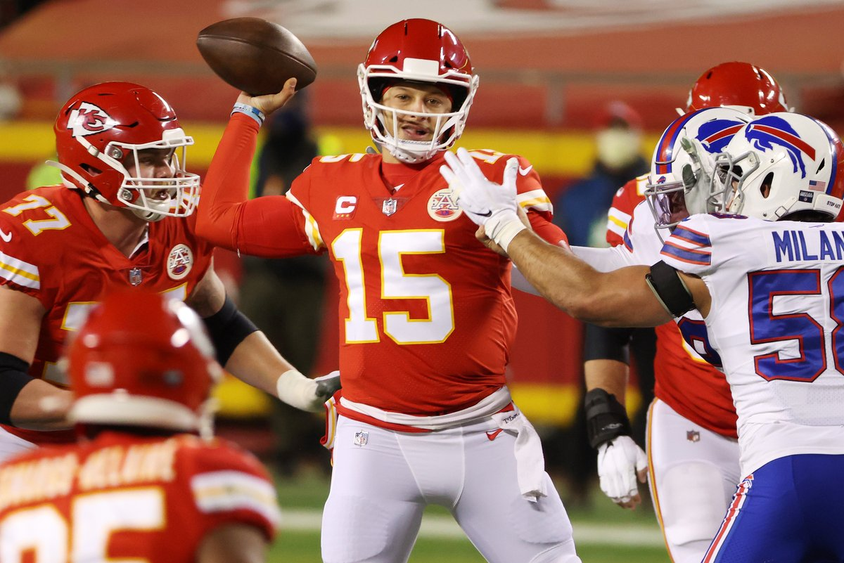 Patrick Mahomes:  Postseason Starts:                                            7 Postseason Starts with 250+ Pass Yards:     7