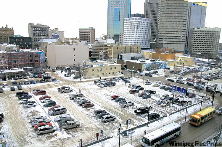 My column tomorrow: Winnipeg's new parking strategy is an opportunity to eliminate mandatory minimum parking requirements that result in overbuilt parking levels in new development, decreasing housing affordability, incentivizing urban sprawl & reducing neighbourhood walkability.