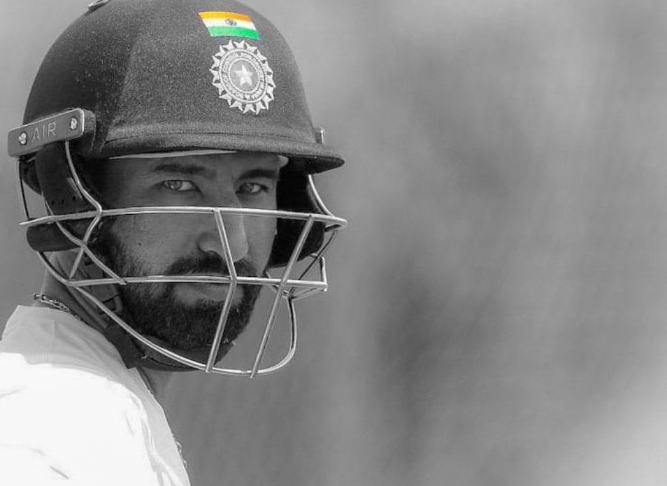4️⃣ Tests, 9️⃣2️⃣8️⃣ balls.   This man proved to be an embodiment of sheer grit, determination and tenacity in the #AUSvIND series  💪🏻  Wishing our rock-solid @cheteshwar1 a happy 33rd birthday 🥳  📸 - @cheteshwar1 (Twitter)  #Cricket #TeamIndia #Pujara