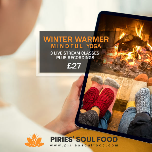 Lockdown Yoga and Meditation for Every Body to warm and cheer 😍 ALL welcome, no experience required. Winter Warmer Mindful Yoga - 3 Live Stream Classes plus Recordings for just £27! BOOK NOW to start next week 🌞  #yoga #yogauk #onlineyoga