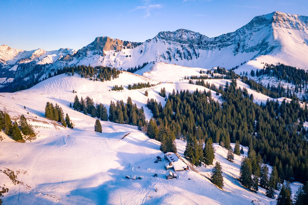 #Weeklyreminder: Switzerland is all wrapped up for winter. The coldest time of year can be so beautiful in the region around @fribourgregion.  ❄️😍