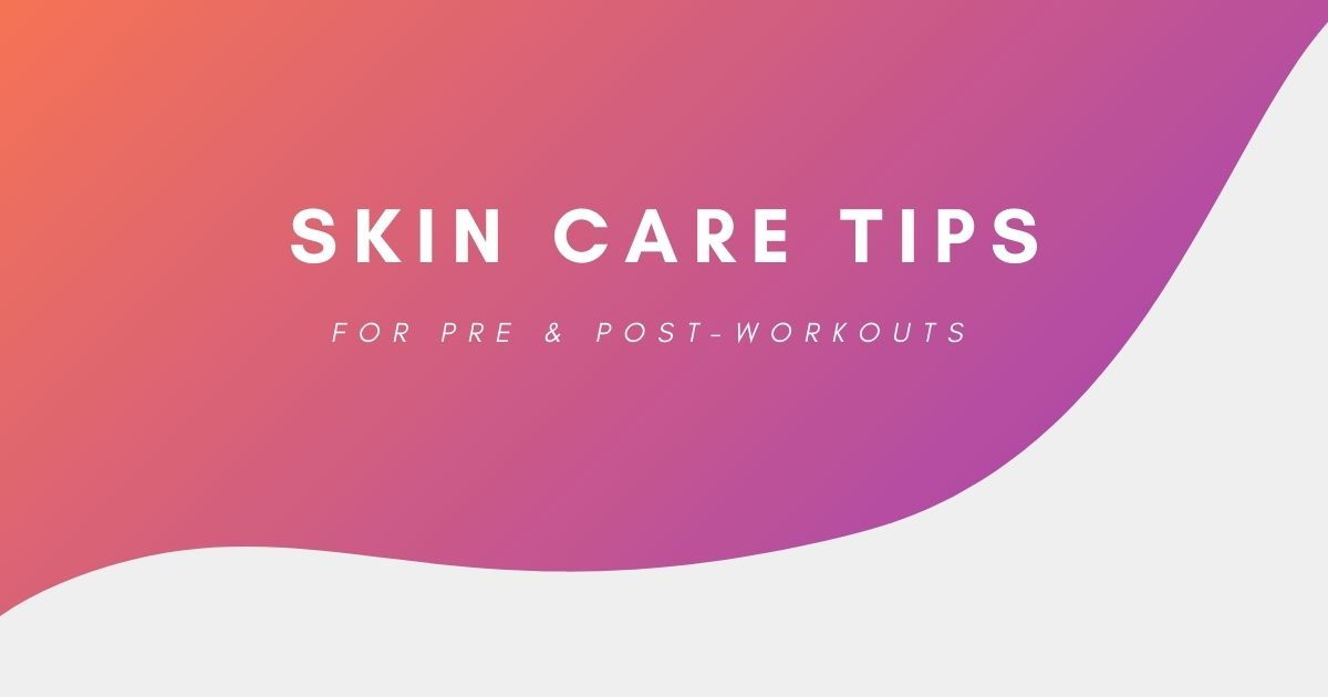 Chapter 59: Skin Care Tips for Pre and Post-Workouts 💪 What's your pre and post-workout skin care routine like? 👀  #Workout #Exercise #Yesstyle #Skincare
