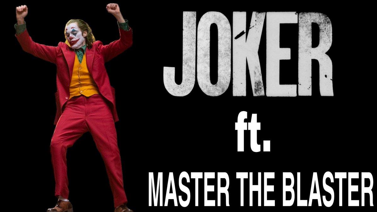 Joker Ft. Master The Blaster:-  #joker  #joaquinphoenix  #mastertheblaster  #Master #ThalapathiVijay #Vijaysethupathi #lokeshkanagaraj #anirudhravichander #TamilMovie #EnglishMovie #indiancinema #hollywoodcinema #movie #movies #films #edit #editing #editor