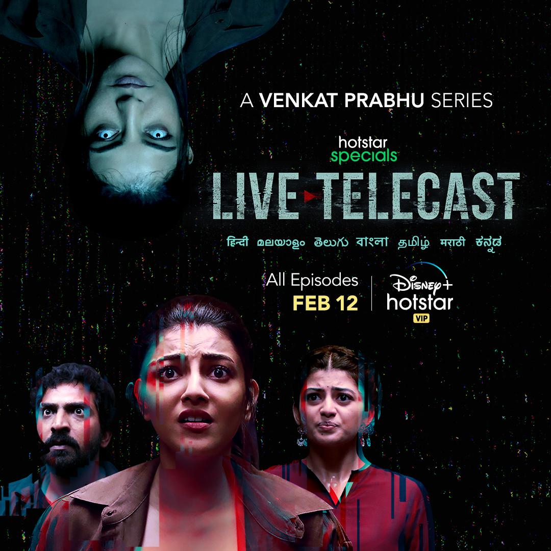 Evil goes live.  Hotstar Specials #LiveTelecastOnFeb12